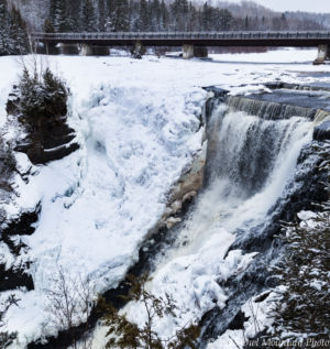 Kakabeka Falls in Winter